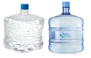 ウォーターサーバーの水ボトルで比較!